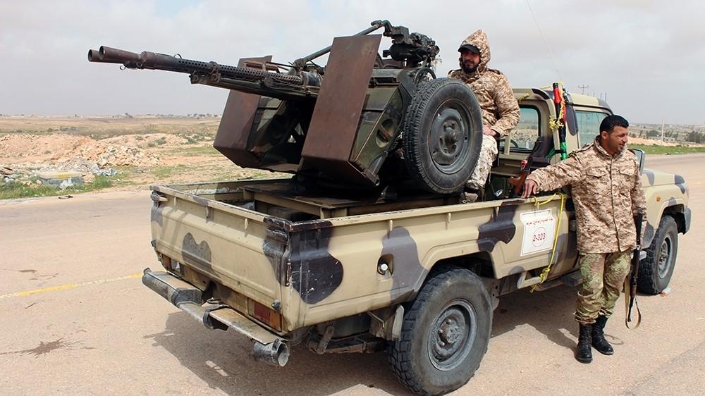 Eastern parliament seeks Egypt's direct intervention in Libya war