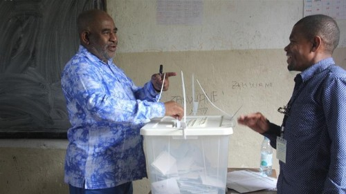 Comoros votes in parliamentary poll boycotted by opposition
