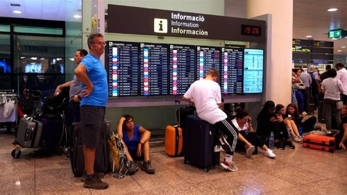 Dozens of flights from Barcelona cancelled after Catalan ruling