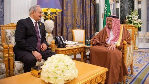 Saudis 'gave Libya's Haftar millions of dollars before offensive'