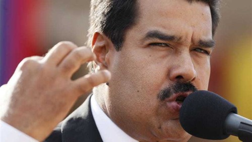 Maduro seeks more powers to confront US 'aggression'