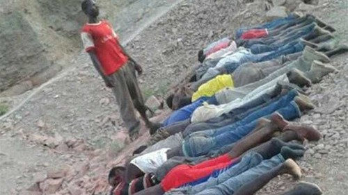 Gunmen kill dozens in attack on Kenya mine