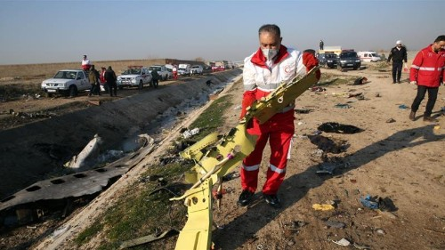 Ukraine does not rule out attack as cause of plane crash in Iran