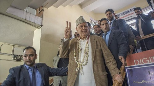 India arrests Kashmir leader Abdullah under controversial law