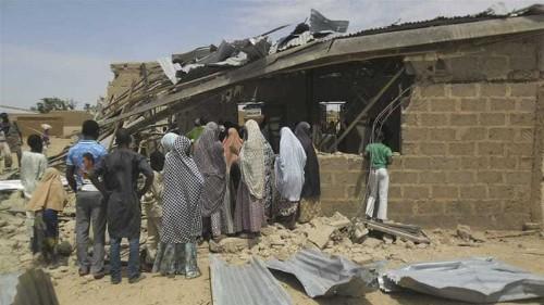 Twin blasts hit central Nigerian city of Jos