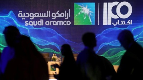 Saudi Aramco shares surge 10 percent on stock market debut