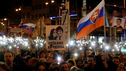 As murdered Slovak remembered, journalists call for protection