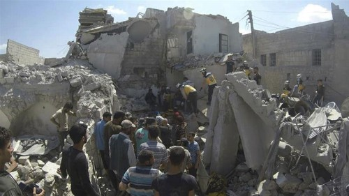 At least 11 killed in Syrian government attack on Idlib province