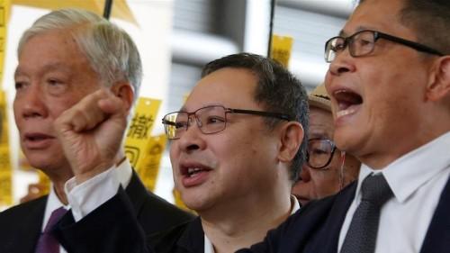 Hong Kong pro-democracy activists plead not guilty