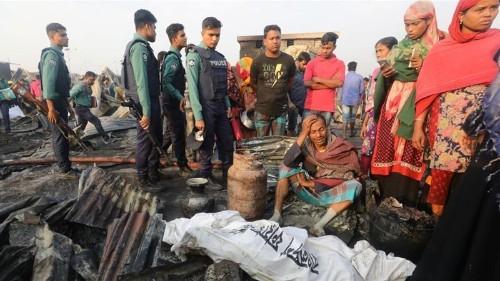 Bangladesh: Deadly blaze kills nine in Chittagong slum