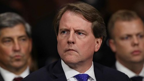 Trump directs ex-White House counsel McGahn to defy subpoena
