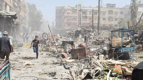 UN aid chief condemns civilian deaths in Syria
