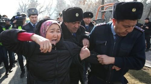 Kazakhstan's crackdown on opposition dashes hopes for fair polls