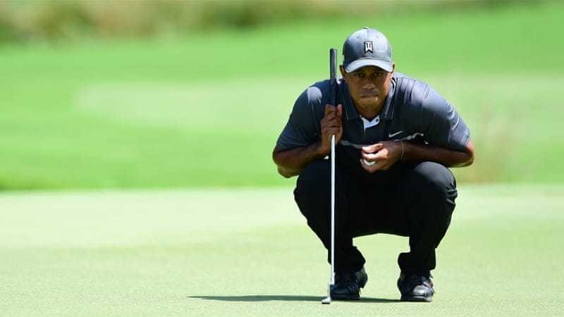 Tiger roars into share of lead at Wyndham