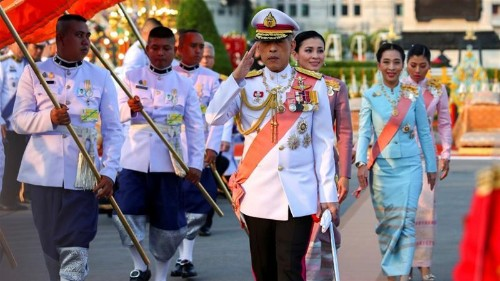 'Evil conduct': Thai king fires four more palace officials