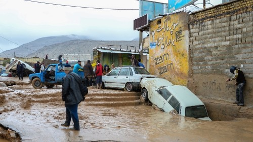 Iran suffers '$2bn in damages' as flood toll continues to rise