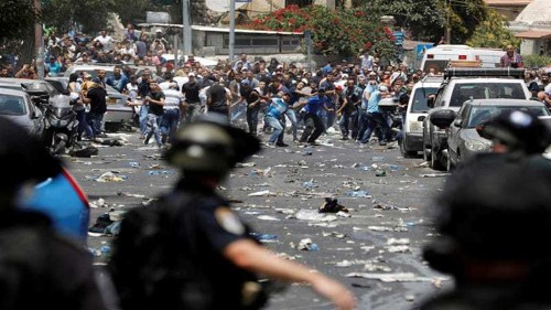 Two Palestinians die after clashes with Israeli forces