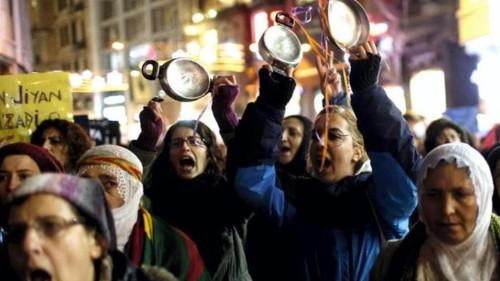 Women blast Erdogan over 'hate crime'