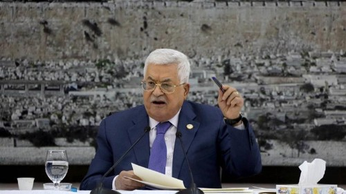PA's Mahmoud Abbas declares suspension of all deals with Israel