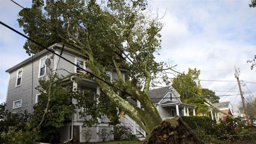 US northeast cleans up after storm for the record books