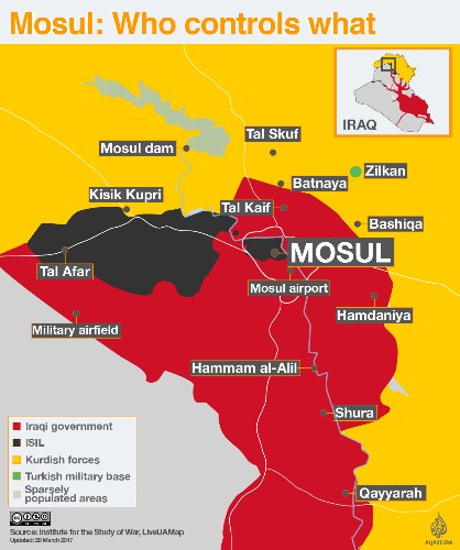 Mosul's civilian deaths: How the US destroyed Iraq