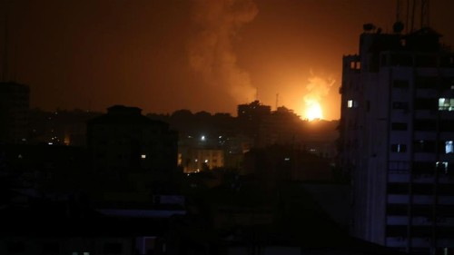 Palestinian succumbs to wounds as Israeli air raids hit Gaza