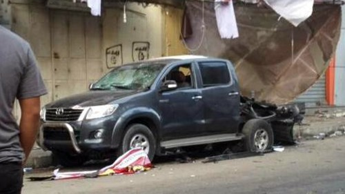 Explosions hit cars of Hamas officials in Gaza City
