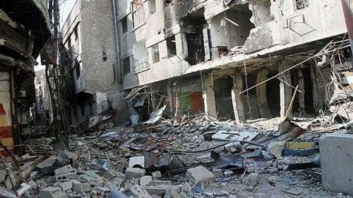 N Korea denies giving military aid to Syria
