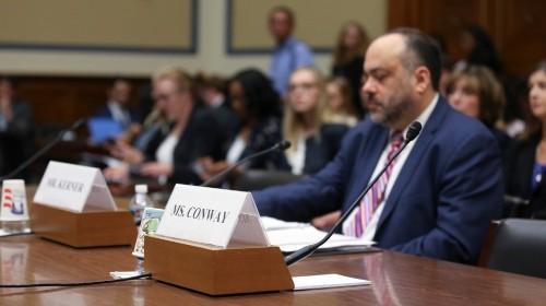 US House oversight panel backs subpoena for Kellyanne Conway