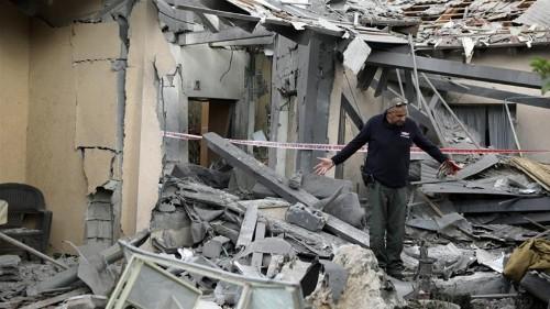 Israel rocket attack: Seven wounded north of Tel Aviv