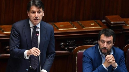 Italian PM Conte faces ouster as Salvini flexes political muscle