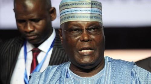 'Get working again': Nigeria's Abubakar launches poll campaign
