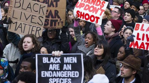 'Enough is enough': US anti-racism protests