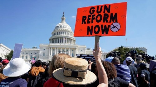 The tide is turning for gun control in the US