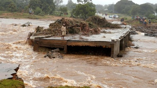 Flooding, cyclone cause widespread damage across Southern Africa