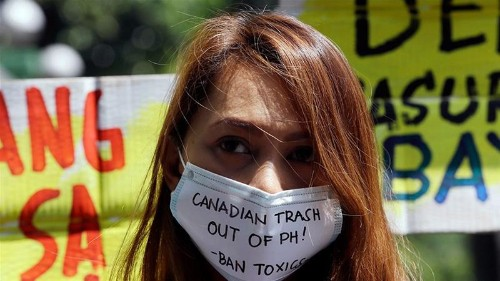 As Canada rubbish festers in Philippines, activists demand action