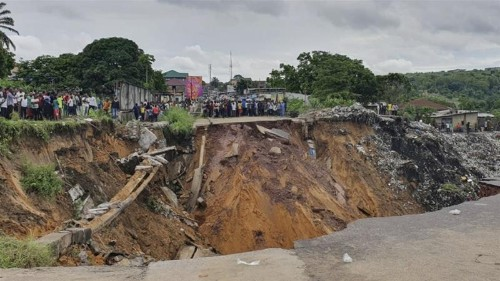 Dozens dead as heavy rain pounds DR Congo capital