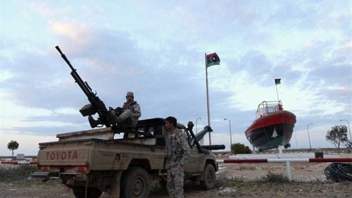 Libya allows use of force against oil tanker