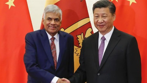 Sri Lanka reverses $300m China housing deal as PM visits India