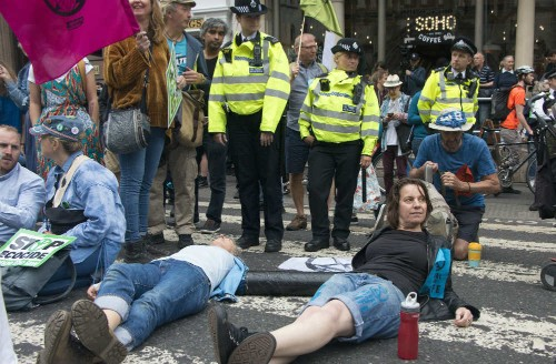 Extinction Rebellion climate protests spread across UK