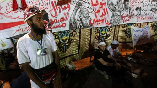 Government issues fresh Egypt protest warning