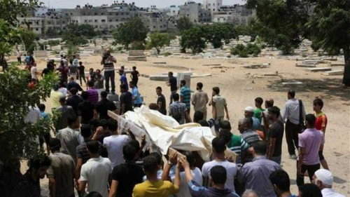 How many Palestinians have been killed in Gaza?