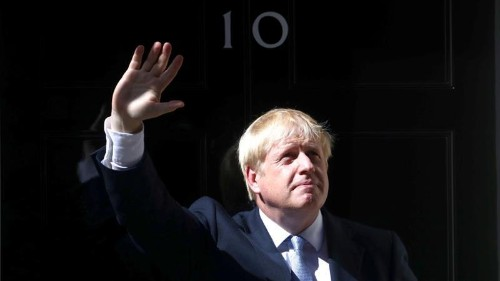 Johnson: UK to consider joining US-led military effort in Gulf
