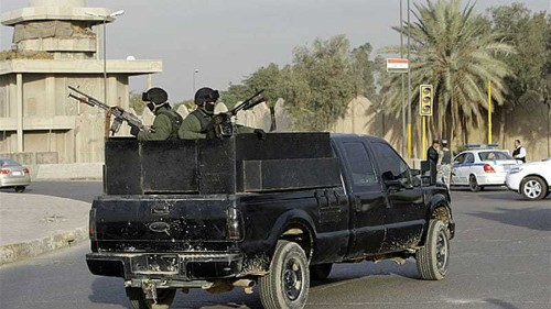 Blackwater guard charged over Baghdad murder