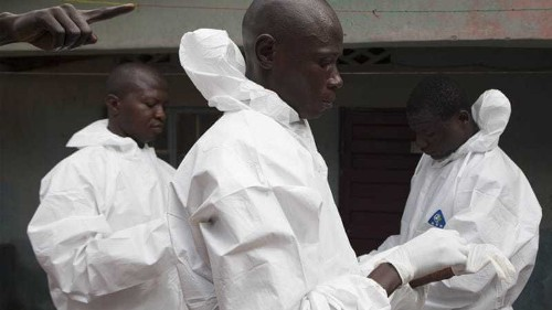 Ebola cases 'drop to lowest levels in months'