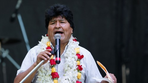 Bolivia court disqualifies Morales from running for Senate