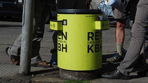 Copenhagen initiative gives bottle collectors 'dignity'