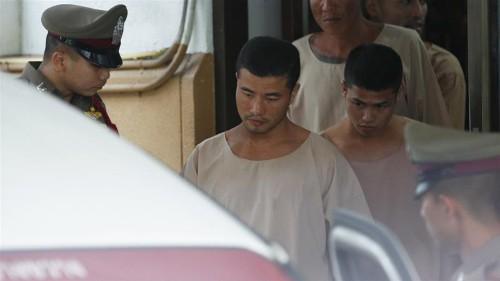 Death sentences stand for Myanmar men in Britons' murders