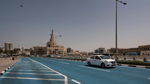 Qatar's 'cool pavement' project aims to reduce road temperatures