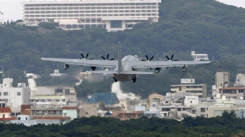 'Strong anger' in Okinawa as Japan starts work to move US base